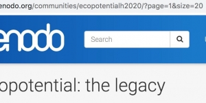 ECOPOTENTIAL community on Zenodo
